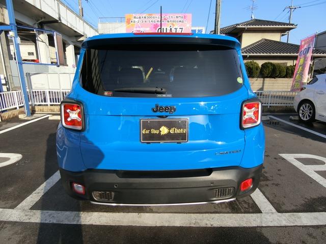 「ジープ」「レネゲード」「SUV・クロカン」「岡山県」の中古車8