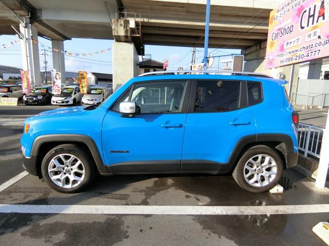 「ジープ」「レネゲード」「SUV・クロカン」「岡山県」の中古車5