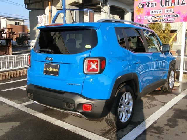 「ジープ」「レネゲード」「SUV・クロカン」「岡山県」の中古車7
