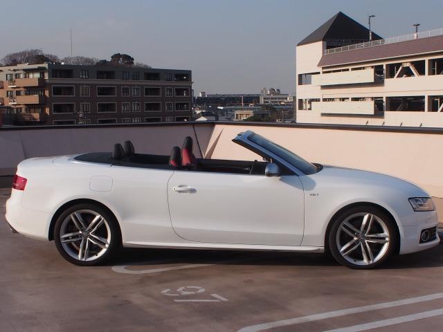 「アウディ」「S5カブリオレ」「オープンカー」「神奈川県」の中古車8