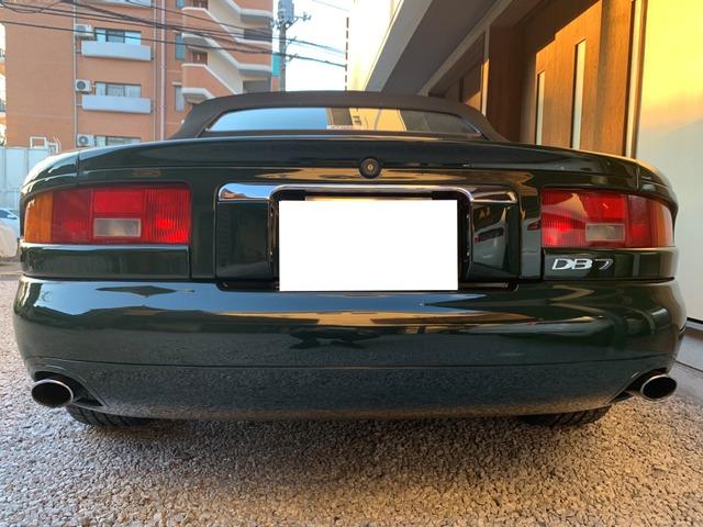 「アストンマーティン」「DB7ヴォランテ」「オープンカー」「神奈川県」の中古車8