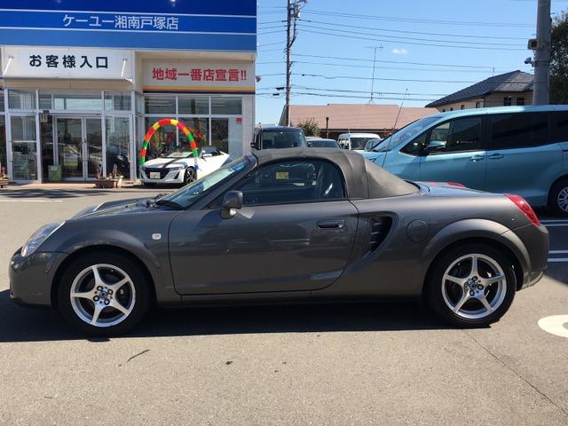 「トヨタ」「MR-S」「オープンカー」「神奈川県」の中古車