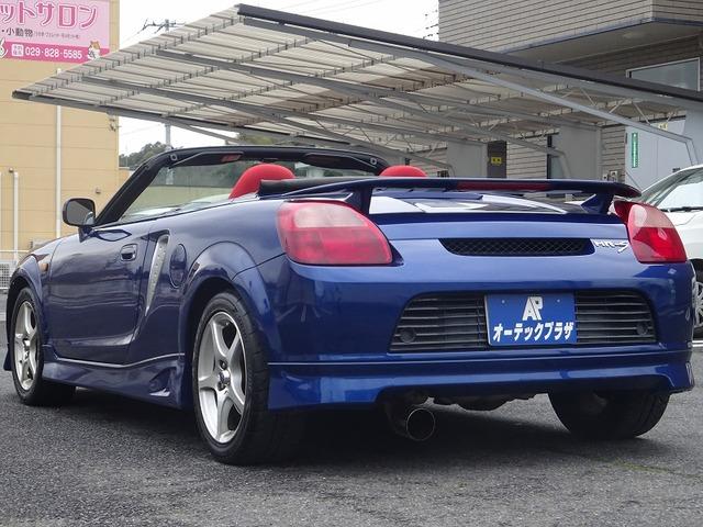 「トヨタ」「MR-S」「オープンカー」「茨城県」の中古車
