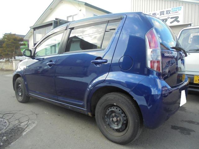 「トヨタ」「パッソ」「コンパクトカー」「北海道」の中古車