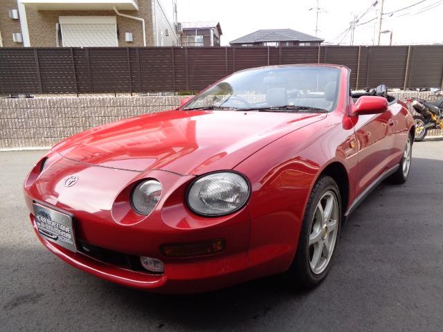 「トヨタ」「セリカコンバーチブル」「オープンカー」「兵庫県」の中古車