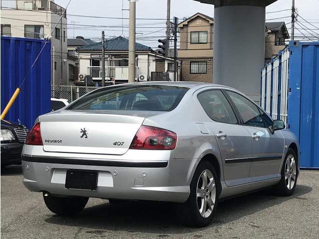 「プジョー」「407」「セダン」「神奈川県」の中古車7