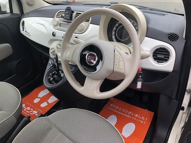 「フィアット」「500」「コンパクトカー」「茨城県」の中古車3