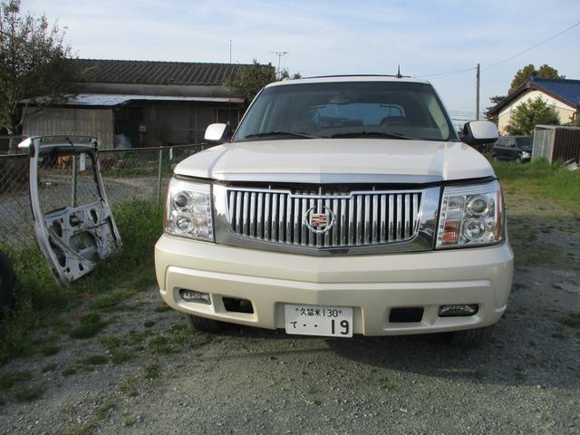 「キャデラック」「エスカレードEXT」「SUV・クロカン」「福岡県」の中古車