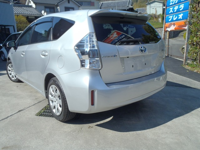 「トヨタ」「プリウスα」「ステーションワゴン」「大阪府」の中古車5