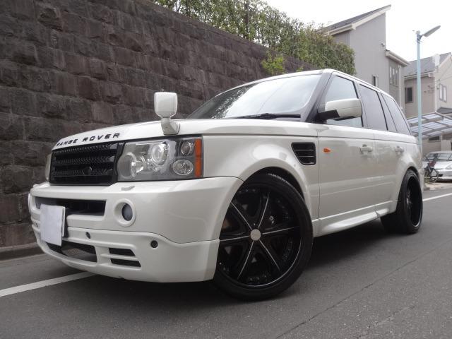 「ランドローバー」「レンジローバースポーツ」「SUV・クロカン」「東京都」の中古車5