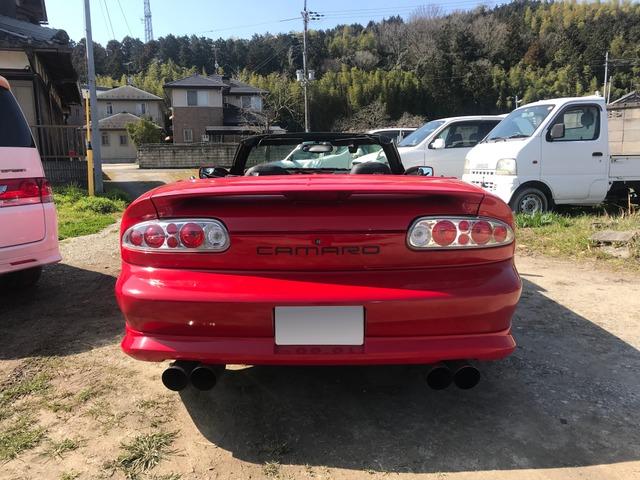「シボレー」「カマロコンバーチブル」「オープンカー」「滋賀県」の中古車