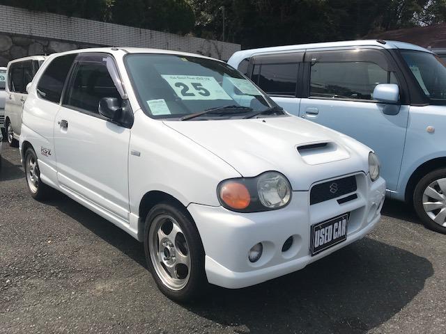 「スズキ」「アルトワークス」「コンパクトカー」「福岡県」の中古車