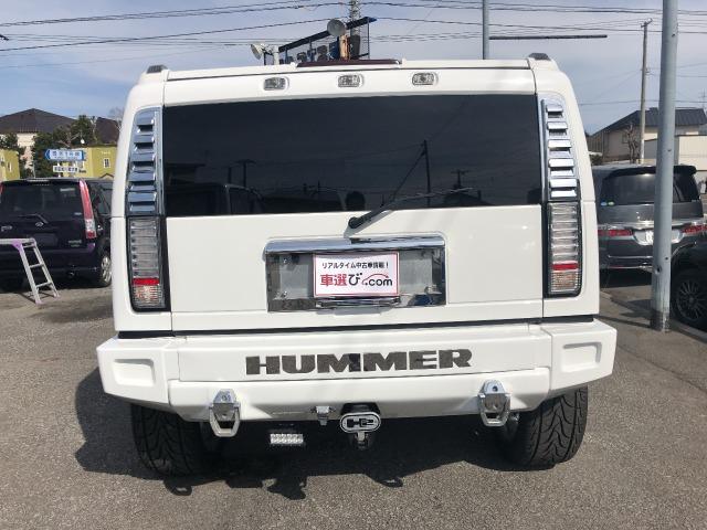 「ハマー」「H2」「SUV・クロカン」「北海道」の中古車4