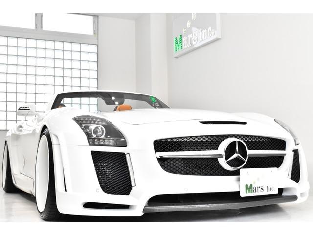 「メルセデスベンツ」「SLS AMG」「オープンカー」「東京都」の中古車