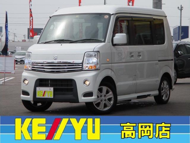「スズキ」「エブリイワゴン」「軽自動車」「富山県」の中古車