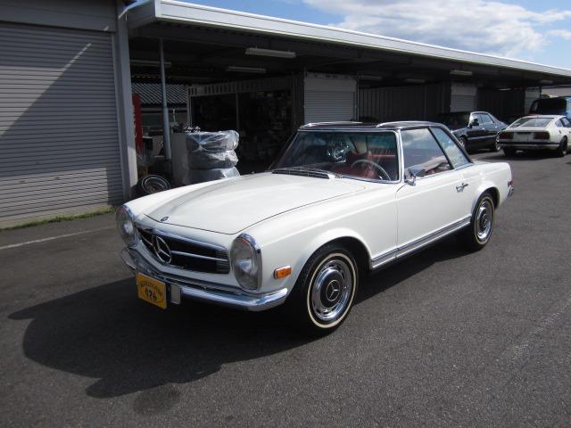 「メルセデスベンツ」「280SL」「オープンカー」「愛知県」の中古車