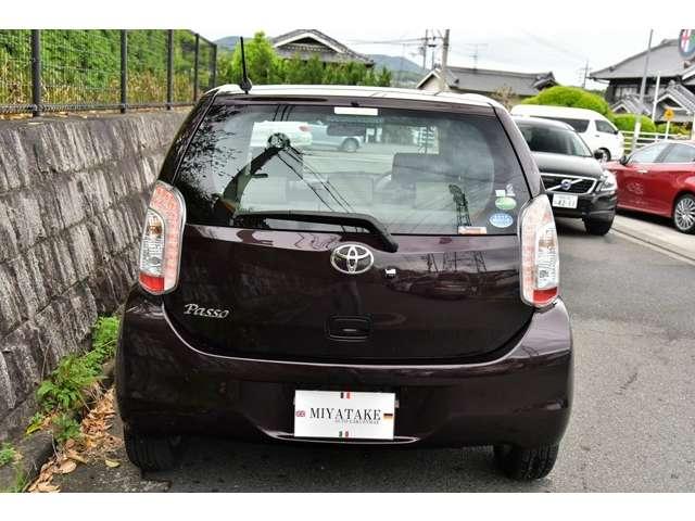 「トヨタ」「パッソ」「コンパクトカー」「奈良県」の中古車4
