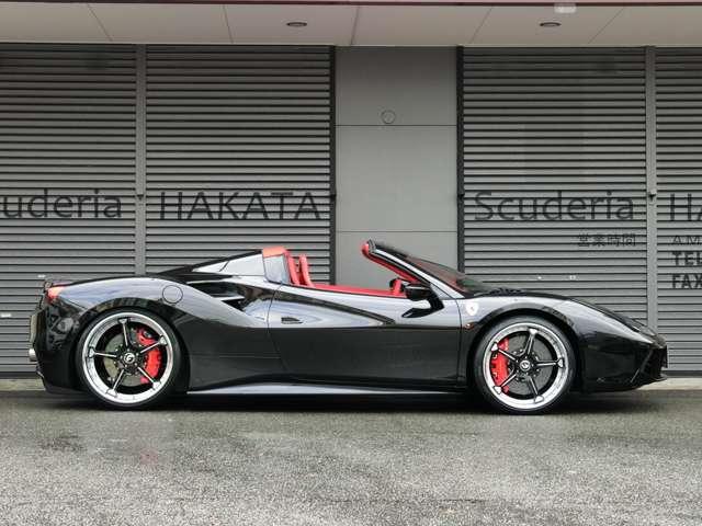 「フェラーリ」「488スパイダー」「オープンカー」「福岡県」の中古車5