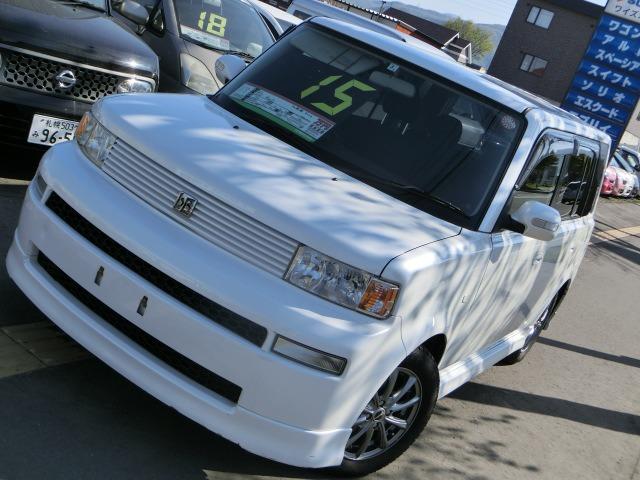 「トヨタ」「bB」「コンパクトカー」「北海道」の中古車4