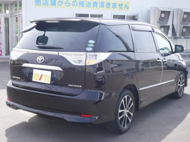 「トヨタ」「エスティマ」「ミニバン・ワンボックス」「北海道」の中古車5