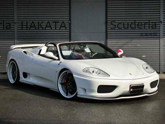 「フェラーリ」「360スパイダー」「オープンカー」「福岡県」の中古車
