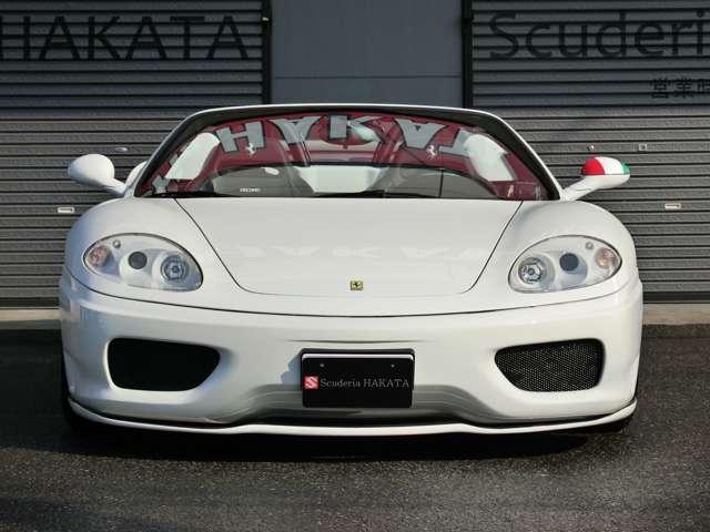 「フェラーリ」「360スパイダー」「オープンカー」「福岡県」の中古車2