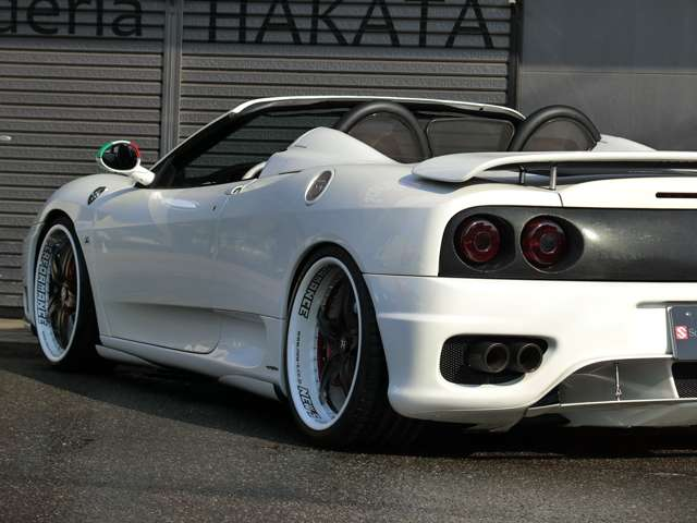 「フェラーリ」「360スパイダー」「オープンカー」「福岡県」の中古車9