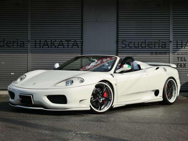 「フェラーリ」「360スパイダー」「オープンカー」「福岡県」の中古車3