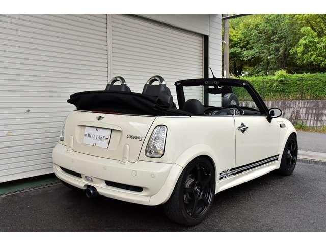 「MINI」「ミニコンバーチブル」「オープンカー」「奈良県」の中古車4