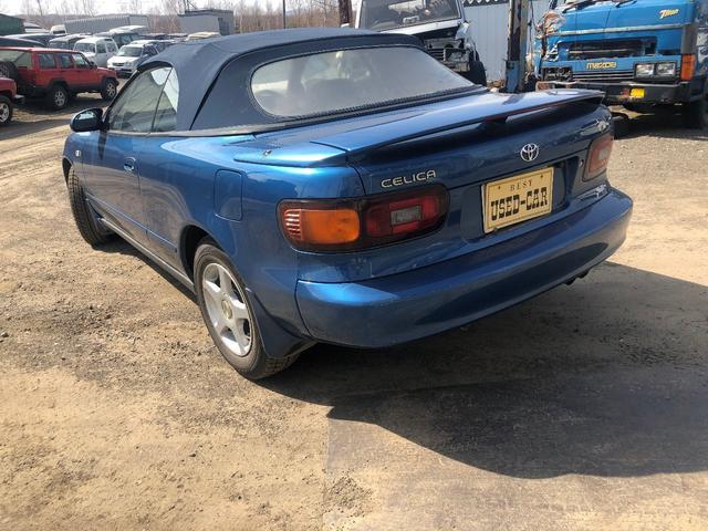 「トヨタ」「セリカコンバーチブル」「オープンカー」「北海道」の中古車8