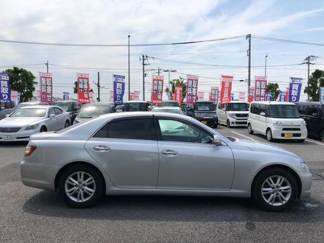 「トヨタ」「マークX」「セダン」「栃木県」の中古車5