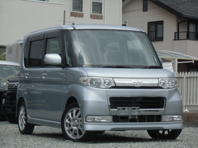 「ダイハツ」「タントカスタム」「コンパクトカー」「福岡県」の中古車3