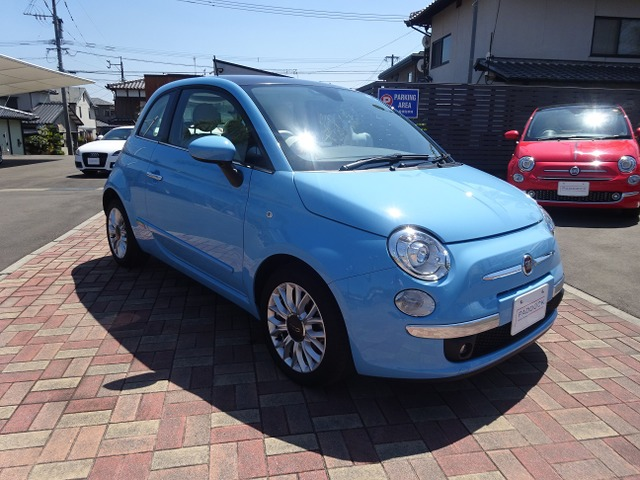 「フィアット」「500」「コンパクトカー」「佐賀県」の中古車3