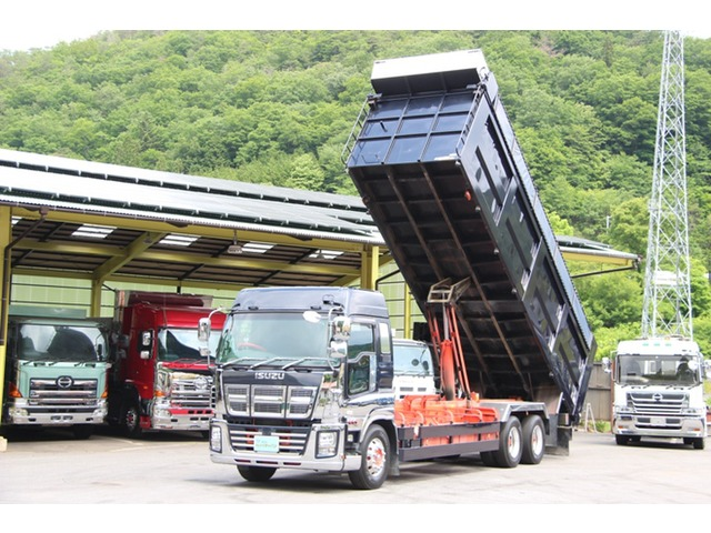 「その他」「ギガ」「トラック」「岡山県」の中古車5