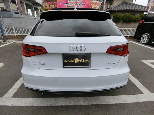 「アウディ」「A3スポーツバック」「コンパクトカー」「岡山県」の中古車8
