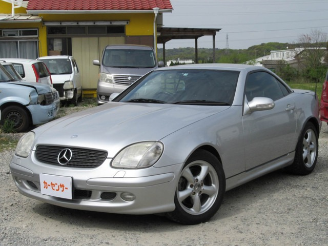 「メルセデスベンツ」「SLK320」「オープンカー」「福岡県」の中古車