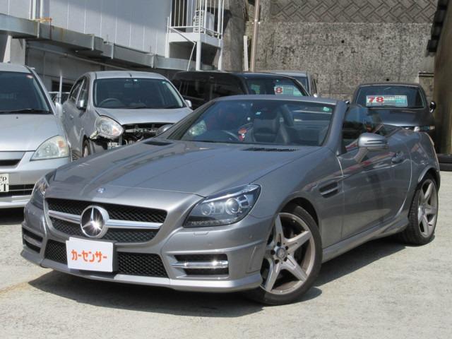 「メルセデスベンツ」「SLK200」「オープンカー」「長崎県」の中古車