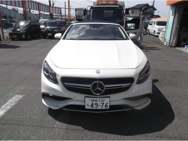 「メルセデスベンツ」「AMG S63カブリオレ」「オープンカー」「神奈川県」の中古車7