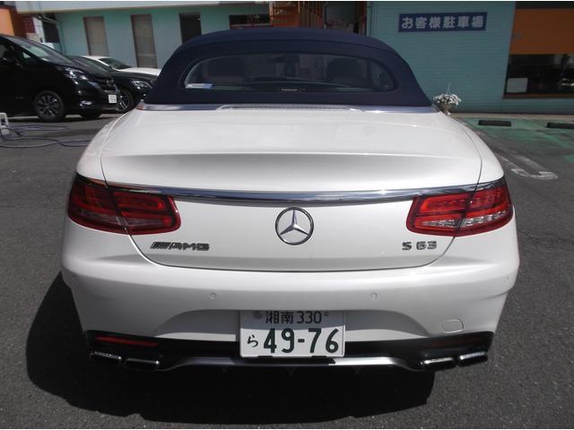 「メルセデスベンツ」「AMG S63カブリオレ」「オープンカー」「神奈川県」の中古車2