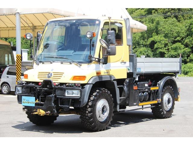 「メルセデスベンツ」「ウニモグ」「トラック」「岡山県」の中古車9