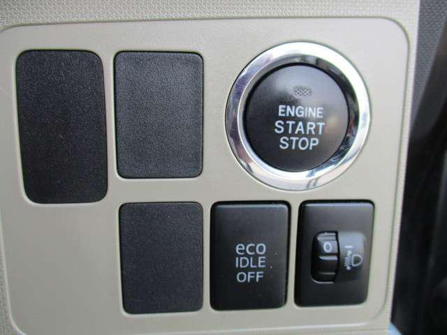 プッシュボタンスタート付ですよ。