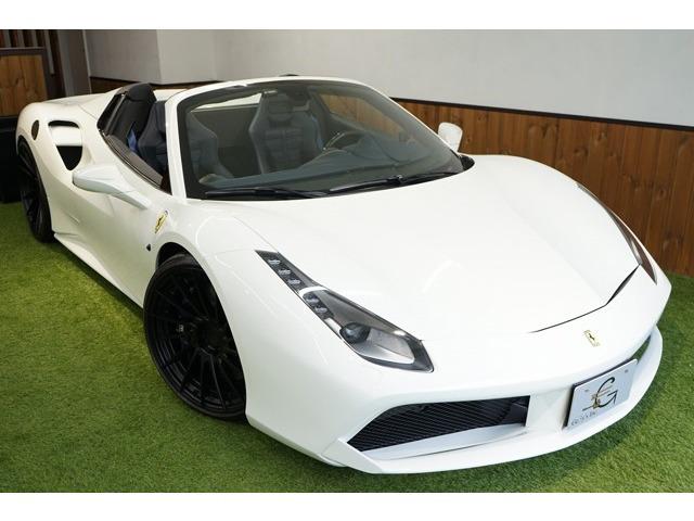 「フェラーリ」「488スパイダー」「オープンカー」「東京都」の中古車