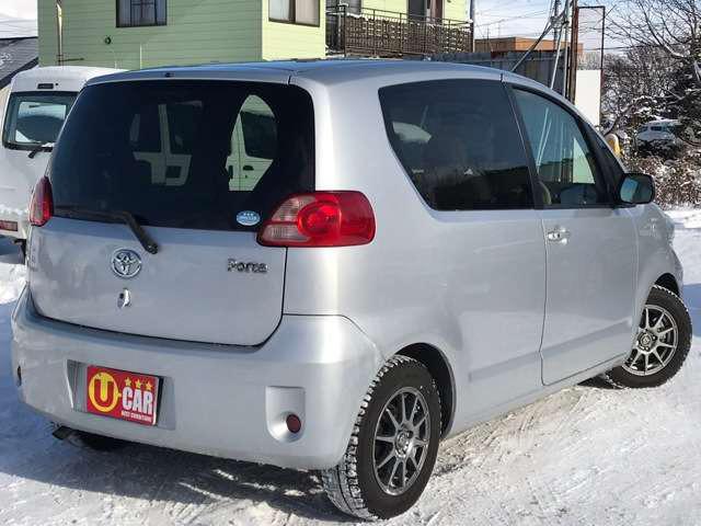 「トヨタ」「ポルテ」「コンパクトカー」「北海道」の中古車
