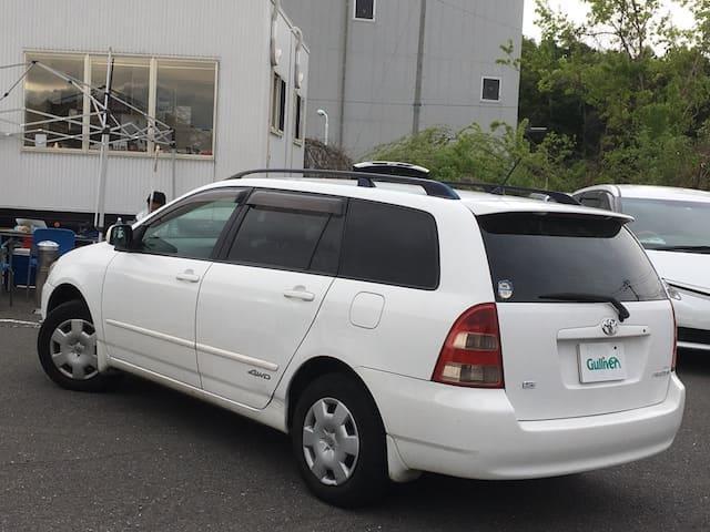 「トヨタ」「カローラフィールダー」「ステーションワゴン」「全国対応」の中古車3