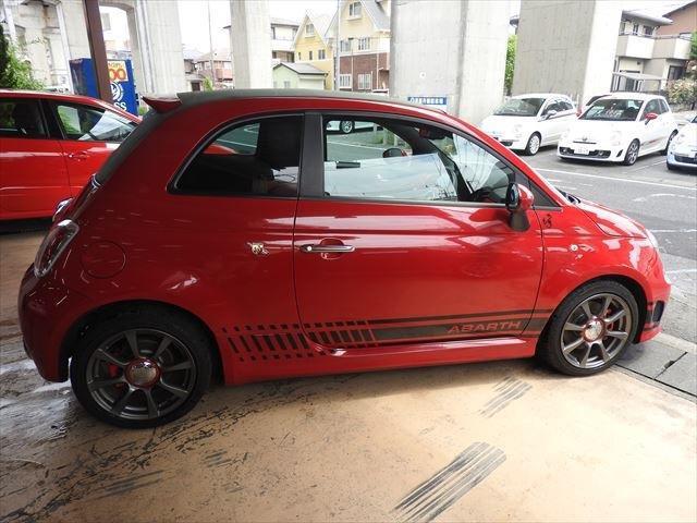 「アバルト」「アバルト500C」「オープンカー」「栃木県」の中古車4