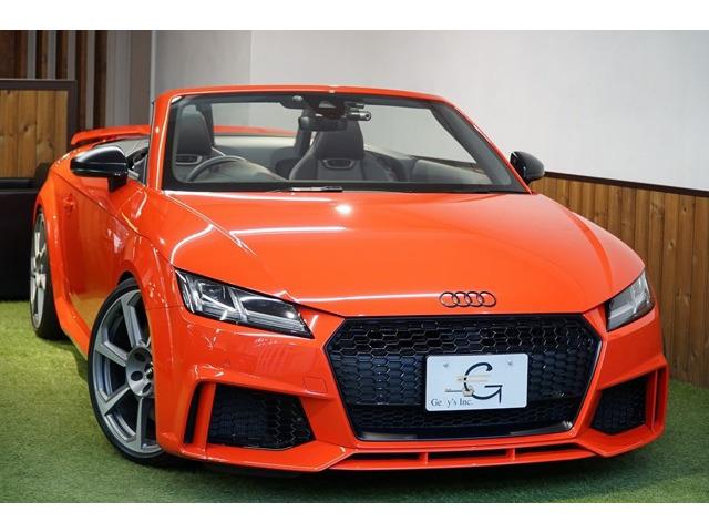 「アウディ」「TT RSロードスター」「オープンカー」「東京都」の中古車