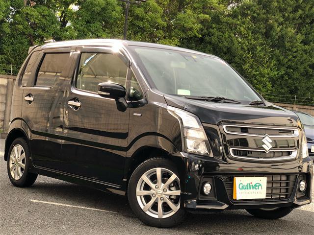 「スズキ」「ワゴンRスティングレー」「コンパクトカー」「全国対応」の中古車