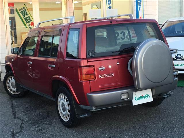「日産」「ラシーン」「SUV・クロカン」「全国対応」の中古車3
