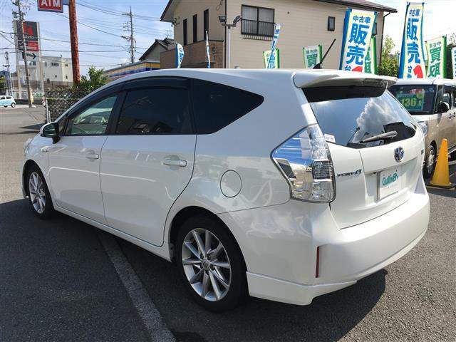 「トヨタ」「プリウスα」「コンパクトカー」「全国対応」の中古車3