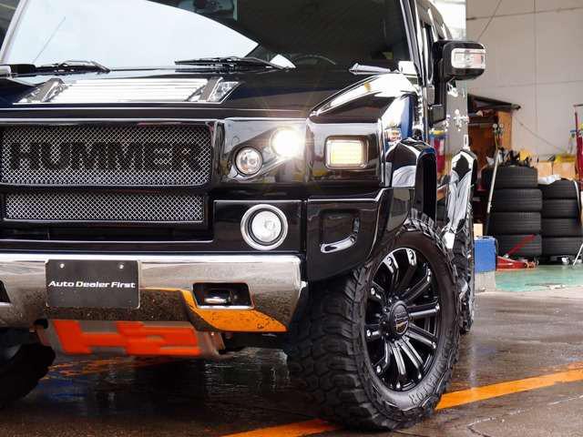 「ハマー」「H2」「SUV・クロカン」「千葉県」の中古車8